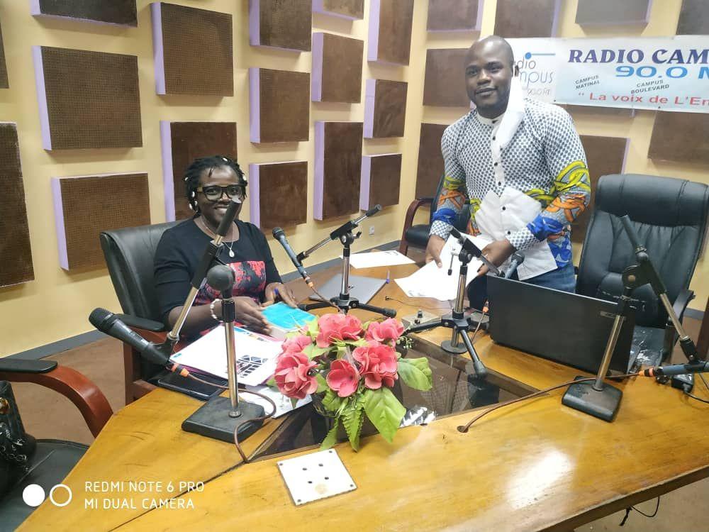Illustration : CAMEROUN - RECAJUD : ÉMISSION DE RADIO ENREGISTRÉE À YAOUNDÉ
