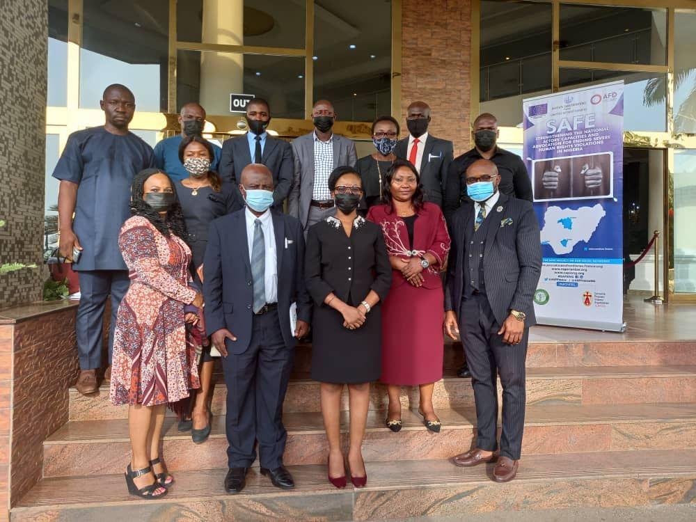 Illustration : NIGÉRIA - COMMUNIQUÉ DE PRESSE PROJET SAFE : RÉUNION DE COORDINATION DE L'AIDE JURIDIQUE