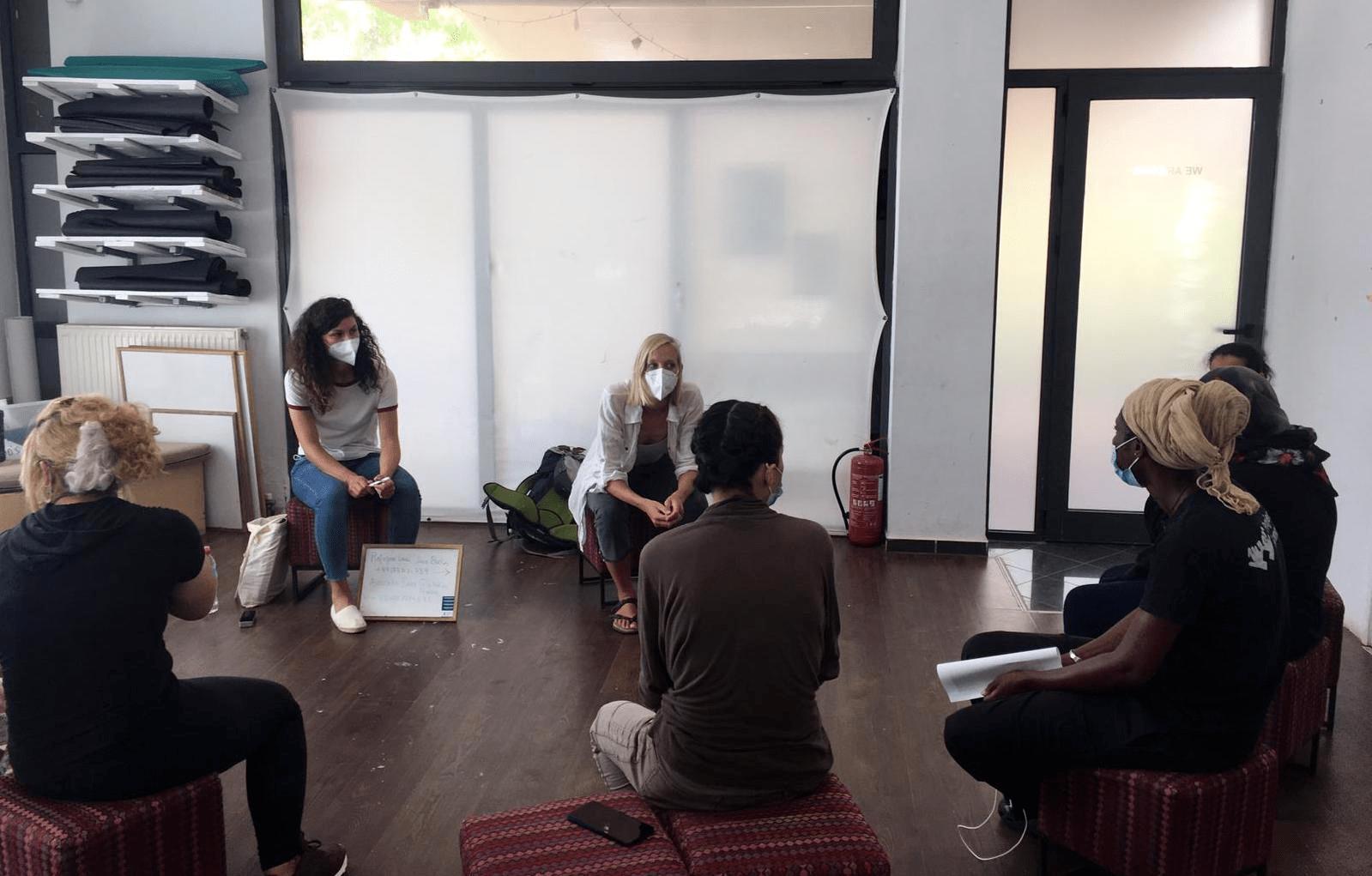 Illustration : Grèce - Des ateliers d'information juridique sur les procédures d'asile
