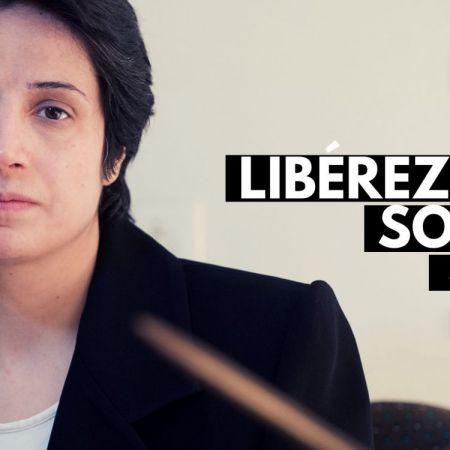 ASFF DEMANDE LA LIBÉRATION IMMÉDIATE DE NASRIN SOTOUDEH