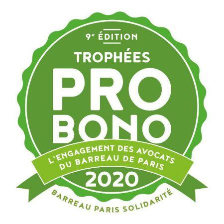 ASF FRANCE PARTICIPE AU TROPHÉE PRO BONO 2020
