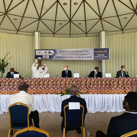 CAMEROUN - CÉRÉMONIE DE LANCEMENT OFFICIELLE DU PROJET RECAJUD