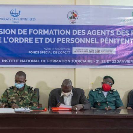 MALI - ProFOTO : FORMATION DES AGENTS DES FORCES DE L'ORDRE ET DU PERSONNEL PÉNITENTIAIRE