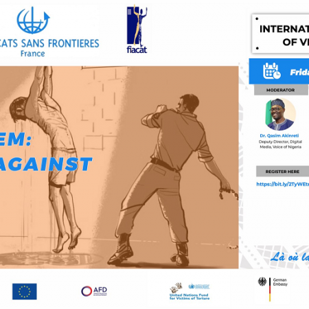 WEBINAIRE | WE FOR THEM: Speak Out Against Torture / La torture : un crime contre l'humanité